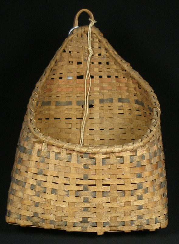 <em>Wall Basket</em> (late 1700s to mid 1800s)
