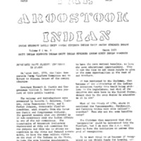 The Aroostook Indian (March 1970)