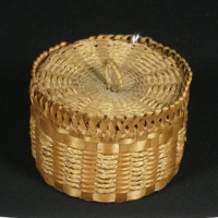 Hair Basket (c. 1880-1920)