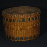 Hat Basket (c. 1860-1880)
