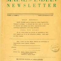 Maine Indian Newsletter (Sept-Oct 1968)