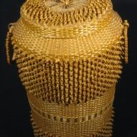 Fancy Basket Hamper (c. 1900)