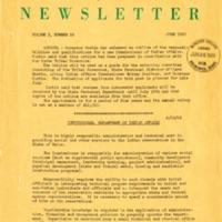 Maine Indian Newsletter (June 1969)