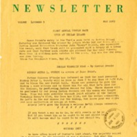 Maine Indian Newsletter (May 1969)