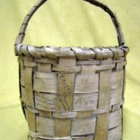 Berry Basket With Handwritten Note (1840)