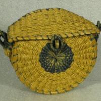 Sweetgrass Fancy Basket (c. 1900)