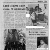 Wabanaki Alliance (August 1980)