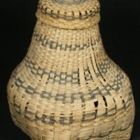 Yarn Basket (c. 1760) by Penacook Abenaki Indians