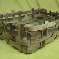 Utilitarian Basket (mid-late 1800s) by unknown Abenaki woman