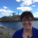 Carol Bachofner by ocean